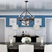 Фотография: Кухня и столовая в стиле Кантри, Квартира, Дом, Декор, Мебель и свет, Советы, Дача, Barcelona Design, как визуально увеличить высоту потолков – фото на InMyRoom.ru
