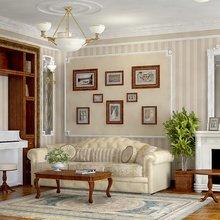Фотография: Гостиная в стиле Кантри, Интерьер комнат – фото на InMyRoom.ru