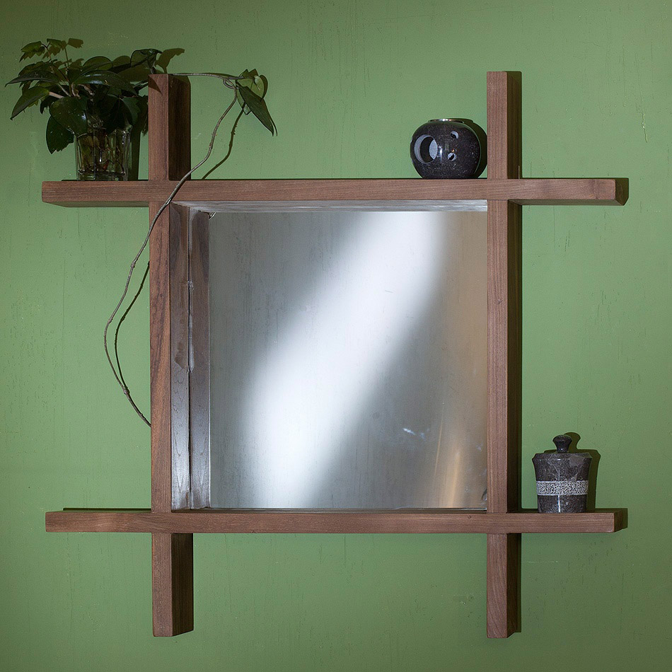 Купить Зеркало Teak&Amp;Water Kalalo с рамой из массива тика, inmyroom, Индонезия