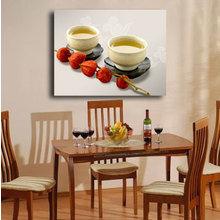 """Декоративная картина на холсте """"Две чашки"""""""