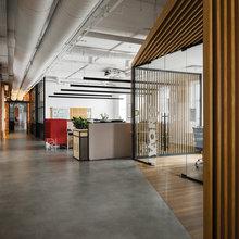 Фото из портфолио Офис американской IT компании – фотографии дизайна интерьеров на INMYROOM
