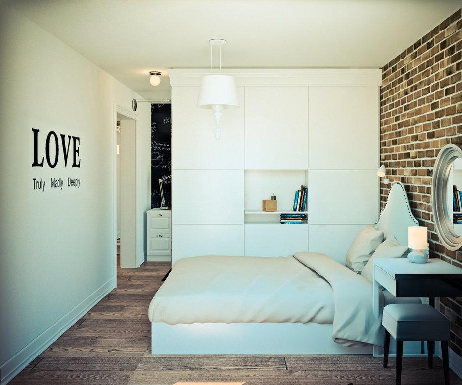 Фотография: Спальня в стиле Скандинавский, Эклектика, Квартира, Дома и квартиры, IKEA, Проект недели – фото на InMyRoom.ru