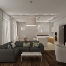 Фото из портфолио Комфортный интерьер частного дома – фотографии дизайна интерьеров на InMyRoom.ru