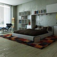 Фотография: Спальня в стиле Лофт, Современный, Интерьер комнат, Советы, Минимализм – фото на InMyRoom.ru