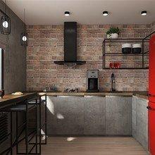 Фото из портфолио Трехкомнатная квартира в стиле LOFT – фотографии дизайна интерьеров на INMYROOM