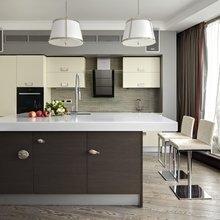 Фотография: Кухня и столовая в стиле Минимализм, Классический, Эклектика, Квартира, Дома и квартиры – фото на InMyRoom.ru