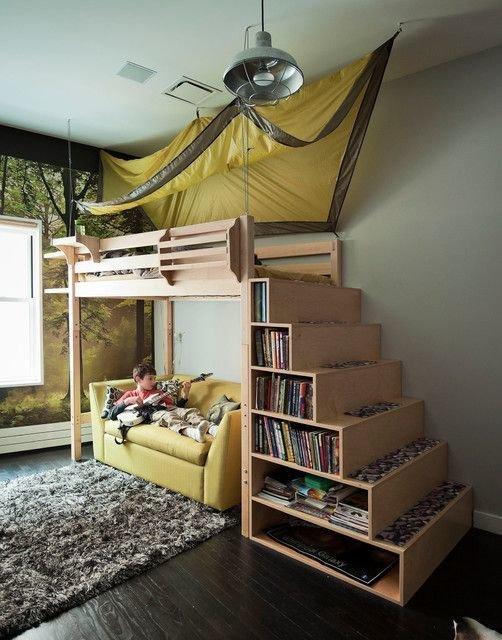 Фотография: Спальня в стиле , Детская, Декор интерьера, Советы, Перепланировка – фото на InMyRoom.ru