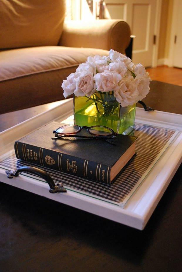 Фотография: Декор в стиле Прованс и Кантри, Декор интерьера, Аксессуары, Декор дома, Цветы, Журнальный столик – фото на InMyRoom.ru
