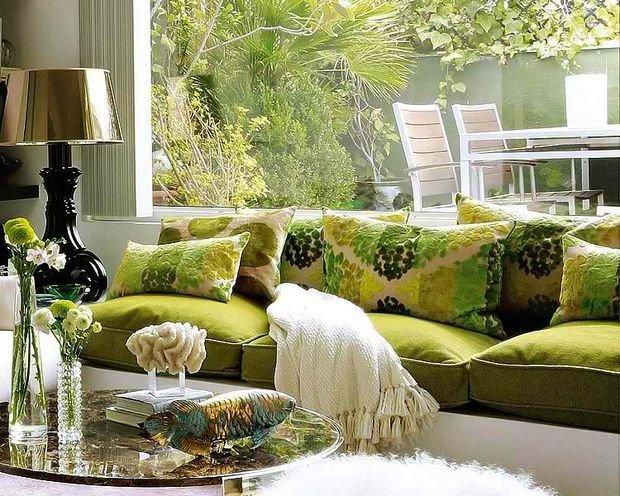Фотография: Кухня и столовая в стиле Классический, Декор интерьера, Квартира, Дом, Декор, Зеленый – фото на InMyRoom.ru