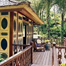 Фотография: Терраса в стиле Восточный, Дома и квартиры, Городские места, Бали – фото на InMyRoom.ru