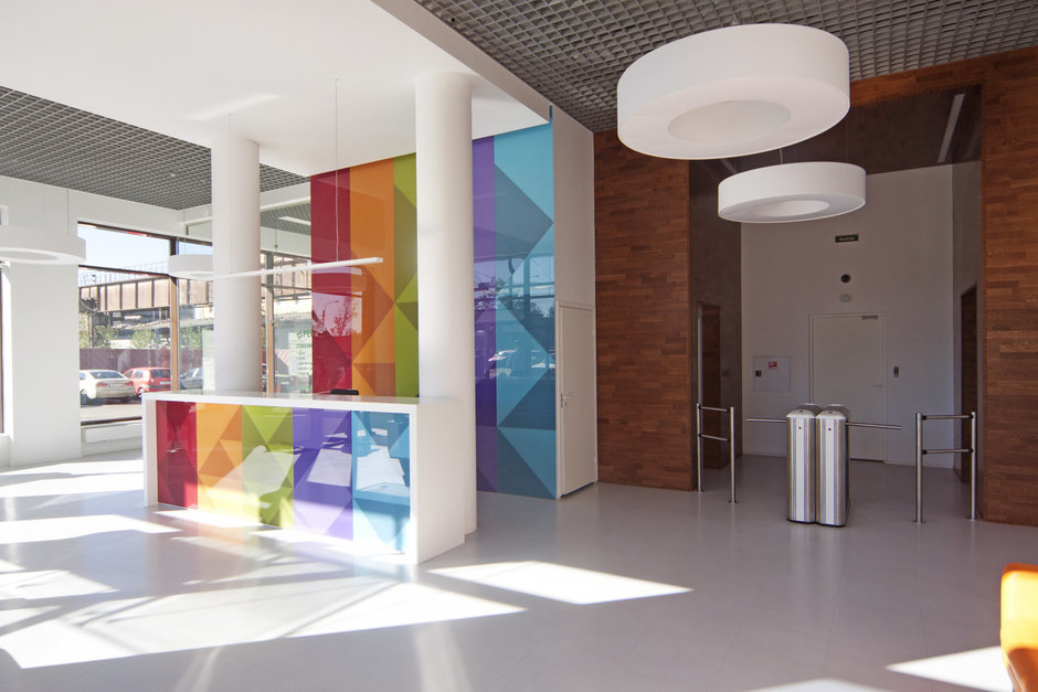 Фотография: Офис в стиле Хай-тек, Современный, Офисное пространство, Дома и квартиры, Проект недели – фото на InMyRoom.ru