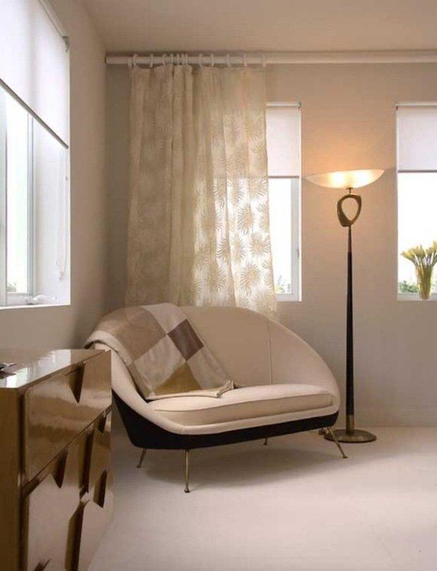 Фотография: Мебель и свет в стиле Современный, Малогабаритная квартира, Квартира, Освещение, Декор, Дома и квартиры – фото на InMyRoom.ru
