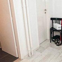 Фотография: Прихожая в стиле Минимализм, Скандинавский, DIY, Малогабаритная квартира, Квартира, Дома и квартиры – фото на InMyRoom.ru