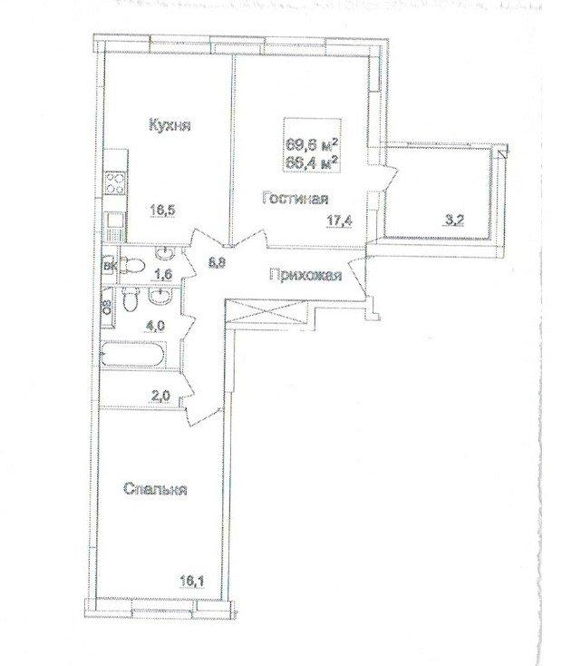 Помогите спланировать кухню-гостиную с фортепиано