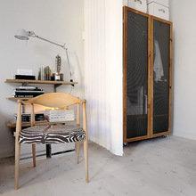 Фотография: Спальня в стиле Минимализм, Малогабаритная квартира, Квартира, Мебель и свет, Дома и квартиры, Стокгольм – фото на InMyRoom.ru