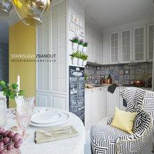 Фото из портфолио Квартира в хрущевке с очень маленькой кухней. – фотографии дизайна интерьеров на INMYROOM