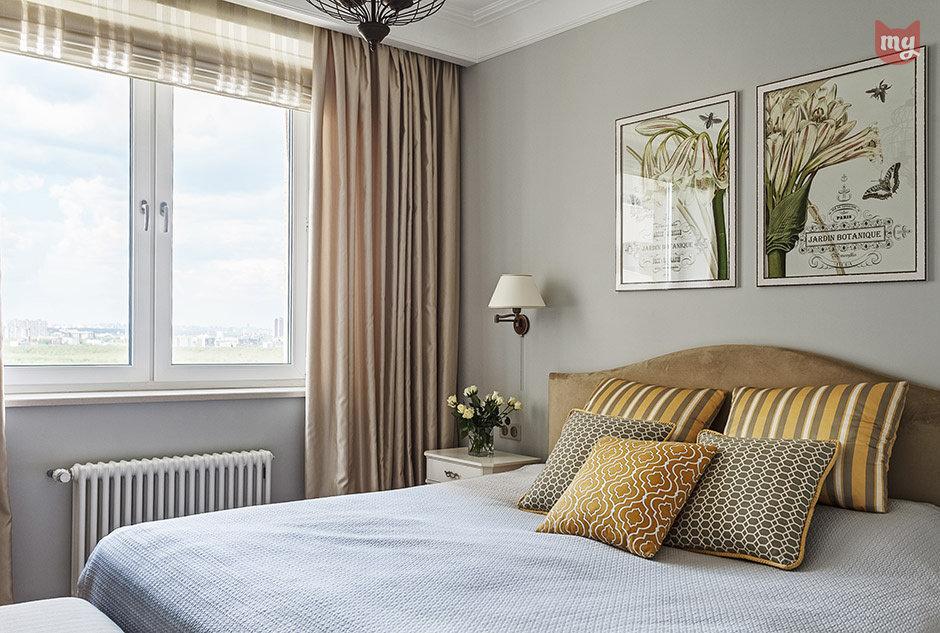 Фотография: Спальня в стиле Прованс и Кантри, Квартира, Проект недели, Наталья Сорокина – фото на InMyRoom.ru