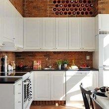 Фотография: Кухня и столовая в стиле Лофт, Скандинавский, Интерьер комнат – фото на InMyRoom.ru