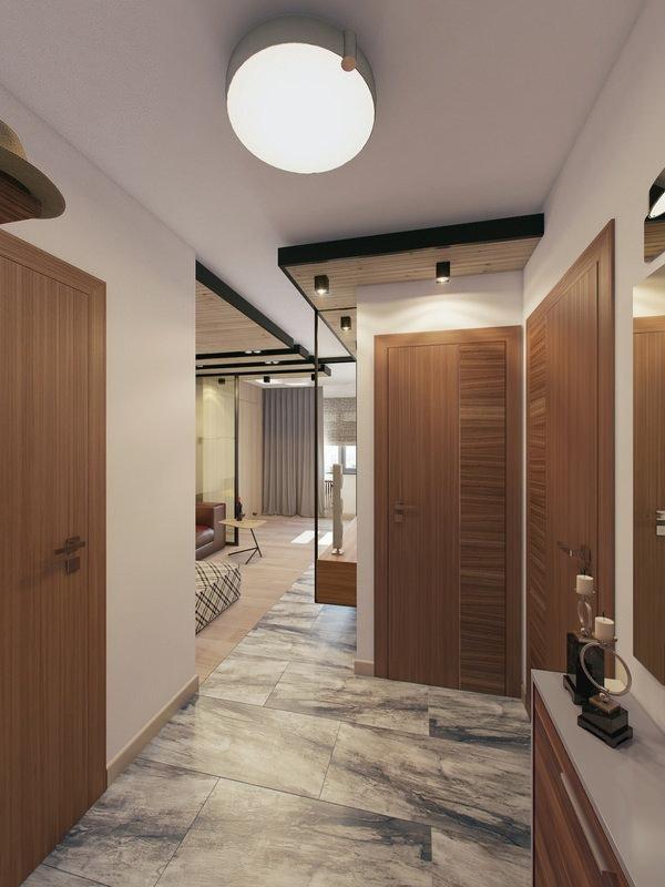 Фотография: Прихожая в стиле Современный, Малогабаритная квартира, Квартира, Дома и квартиры – фото на InMyRoom.ru
