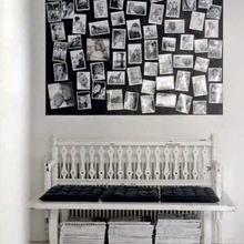 Фотография: Декор в стиле Кантри, Скандинавский, Декор интерьера, Квартира, Аксессуары, Советы, чем украсить пустую стену, идеи декора пустой стены – фото на InMyRoom.ru