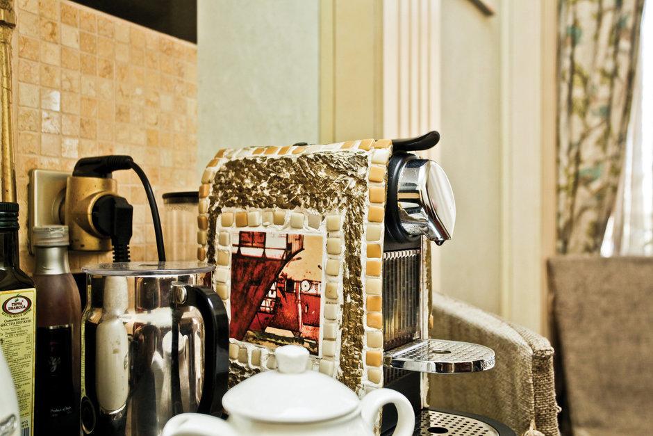 Фотография: Кухня и столовая в стиле Эклектика, Классический, Квартира, Дома и квартиры, Проект недели – фото на InMyRoom.ru