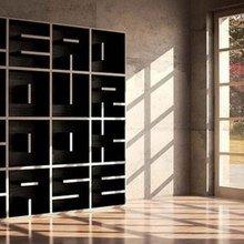 Фото из портфолио Полки: креативные идеи для размещения книг – фотографии дизайна интерьеров на InMyRoom.ru