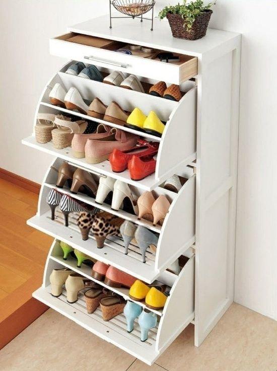 Фотография: Ландшафт в стиле , Прихожая, Советы, хранение обуви, идеи хранения обуви – фото на InMyRoom.ru