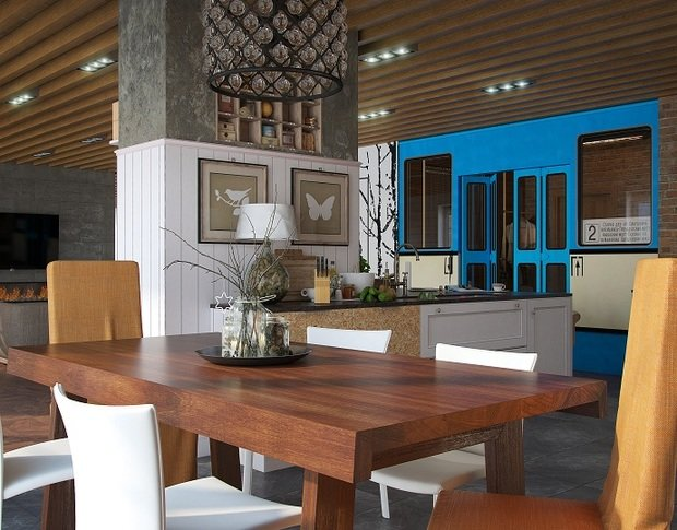 Фотография: Кухня и столовая в стиле Современный, Индустрия, События – фото на InMyRoom.ru