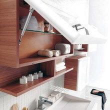 Фотография: Ванная в стиле Скандинавский, Декор интерьера, Декор дома, Системы хранения – фото на InMyRoom.ru