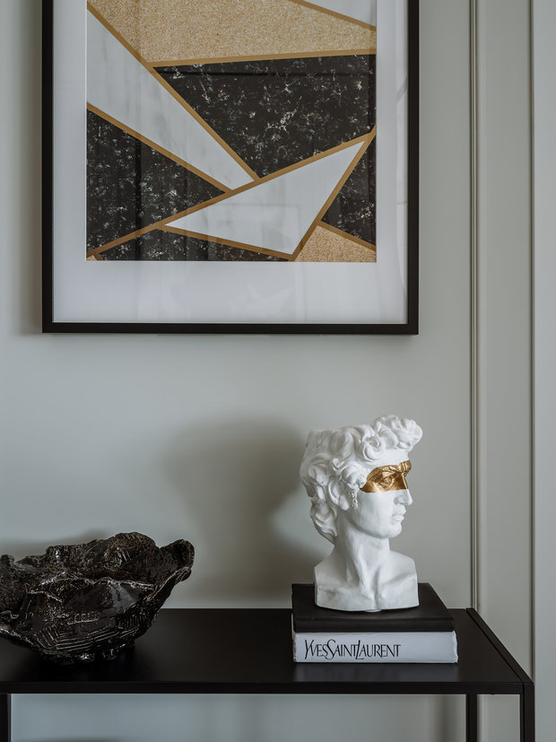 Фотография: Прихожая в стиле Современный, Квартира, Проект недели, Москва, 2 комнаты, 40-60 метров, Ксения Коновалова – фото на INMYROOM