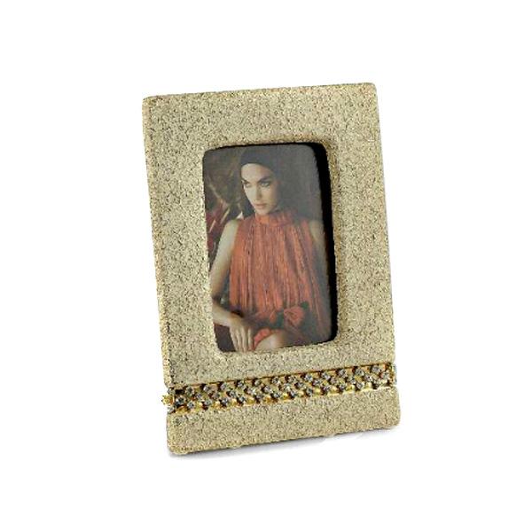 Рамка для фотографий Sarri Diamante из керамики бежевого цвета