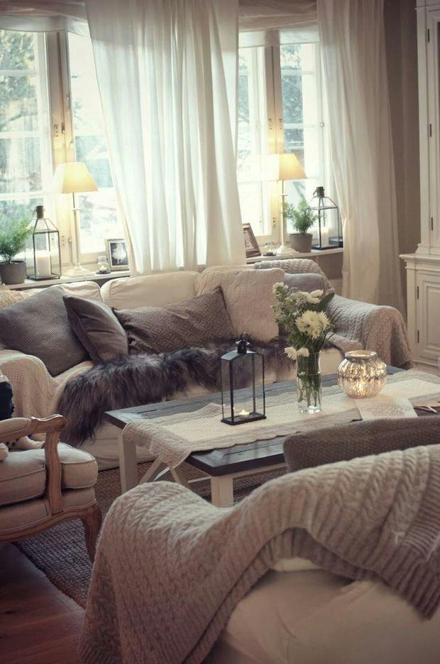 Фотография: Гостиная в стиле Прованс и Кантри, Стиль жизни, Советы – фото на InMyRoom.ru
