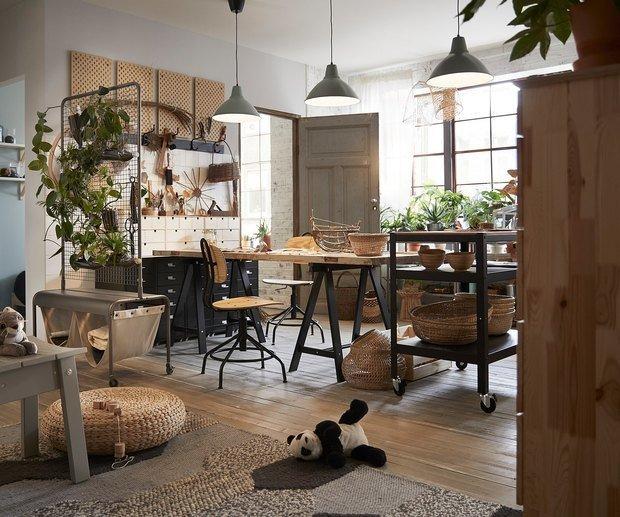 Фотография: Кухня и столовая в стиле Эко, Декор интерьера, Гид, ИКЕА – фото на INMYROOM