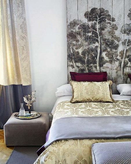 Фотография: Спальня в стиле Эклектика, Декор интерьера, Текстиль – фото на InMyRoom.ru