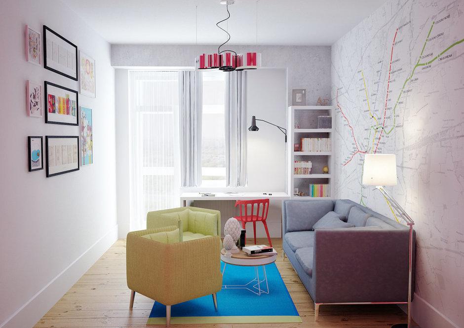 Фотография: Детская в стиле Скандинавский, Квартира, Дома и квартиры, IKEA, Проект недели – фото на InMyRoom.ru