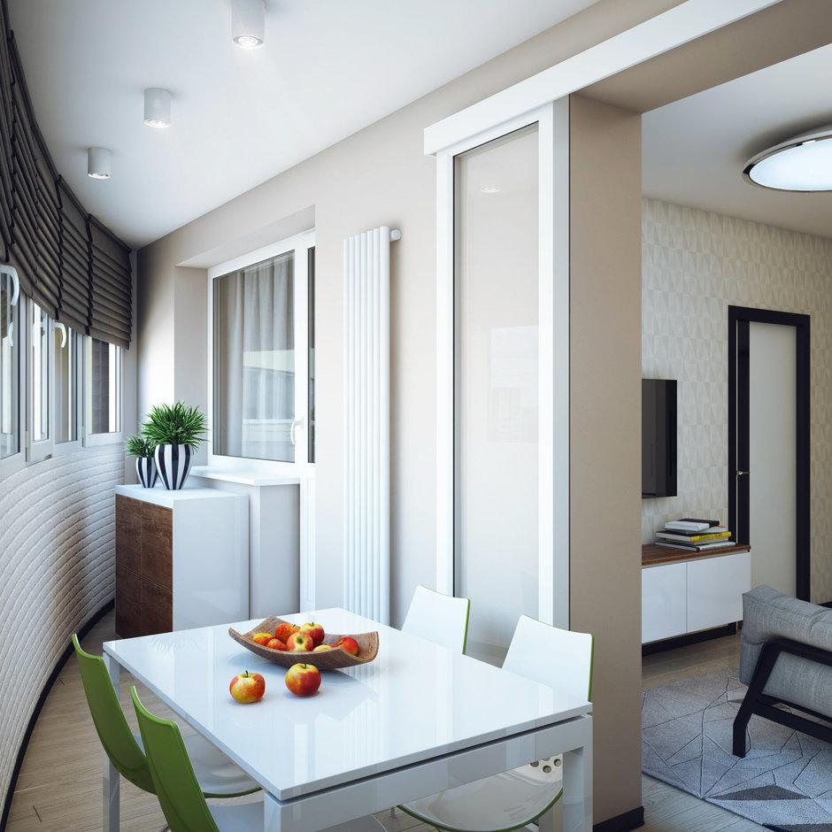 Фотография: Балкон, Терраса в стиле Современный, Малогабаритная квартира, Квартира, Дома и квартиры, Проект недели – фото на InMyRoom.ru