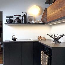 Фото из портфолио  Кухня как музей для хозяйки из Монреаля – фотографии дизайна интерьеров на InMyRoom.ru