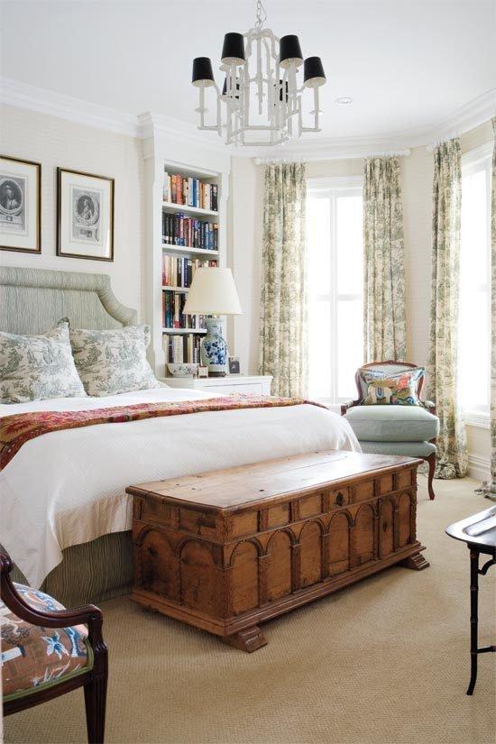Фотография: Спальня в стиле Классический, Современный, Декор интерьера, Интерьер комнат, Ретро – фото на InMyRoom.ru