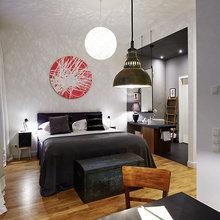 Фотография: Спальня в стиле Восточный, Квартира, Германия, Дома и квартиры – фото на InMyRoom.ru