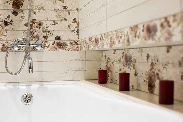 Фотография: Ванная в стиле Прованс и Кантри, Ремонт на практике, ОБИ – фото на INMYROOM