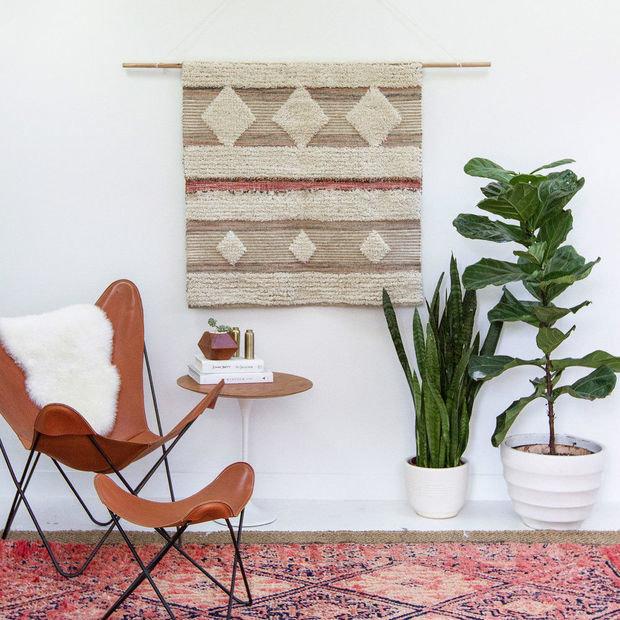 Фотография: Мебель и свет в стиле Скандинавский, Декор интерьера, ковер в интерьере – фото на INMYROOM