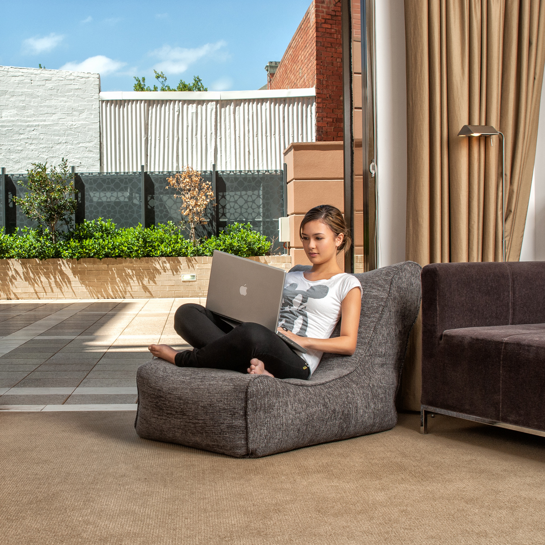 Кресло бин бэг Ambient Lounge Evolution Sofa - Luscious Grey (серый)
