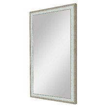 """Зеркало в деревянной раме """"Голубая Флорес"""""""