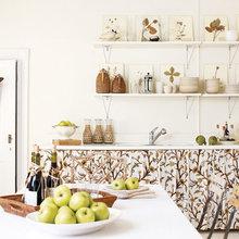 Фотография: Кухня и столовая в стиле Кантри, Квартира, Дома и квартиры – фото на InMyRoom.ru