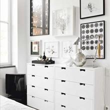 Фотография: Спальня в стиле Скандинавский, Современный, Декор интерьера, Мебель и свет, Шкаф – фото на InMyRoom.ru