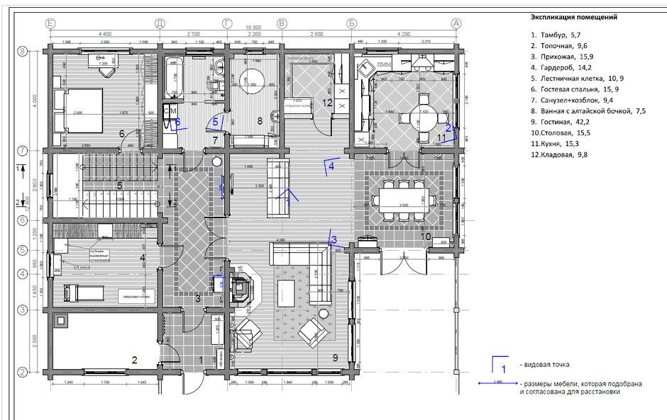 Фотография: Планировки в стиле , Дом, Подмосковье, Дом и дача, 4 и больше, Более 90 метров, Мария Бердникова – фото на InMyRoom.ru