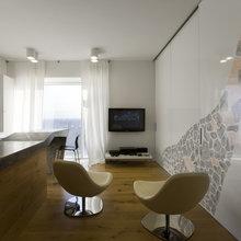 Фотография: Кухня и столовая в стиле Современный, Декор интерьера, Квартира, Дома и квартиры, IKEA, Перегородки – фото на InMyRoom.ru