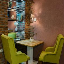 Фото из портфолио Реализованный проект кафе в г. Севастополе – фотографии дизайна интерьеров на InMyRoom.ru
