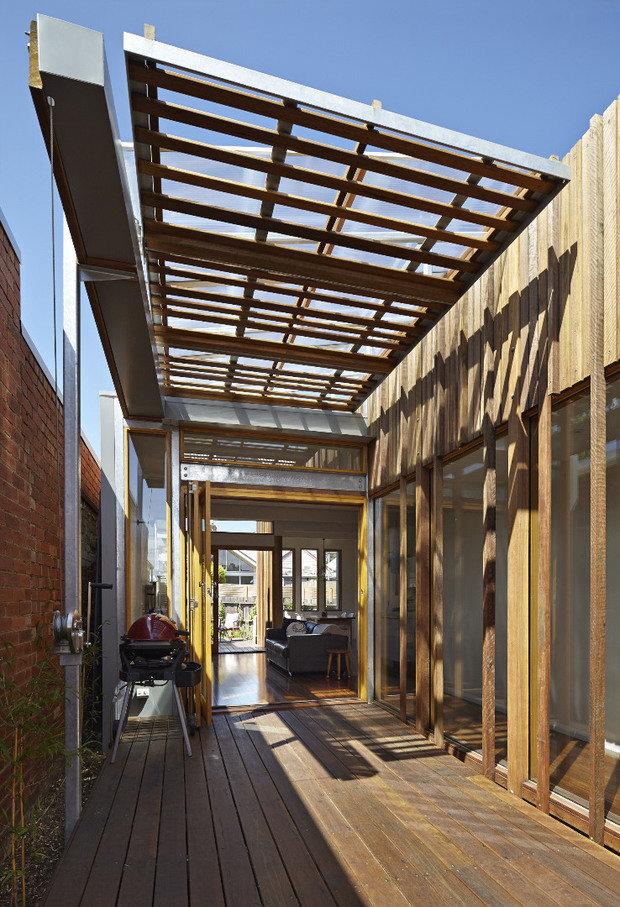 Фотография: Ландшафт в стиле Современный, Дом, Австралия, Дома и квартиры, Минимализм, Эко, Мельбурн – фото на INMYROOM