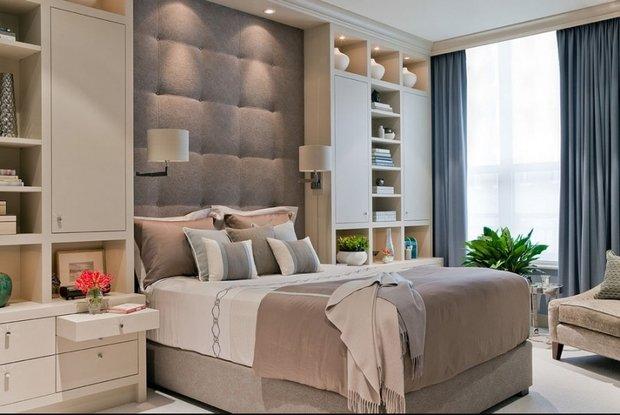 Фотография: Спальня в стиле Классический, Современный, Декор интерьера, Малогабаритная квартира, Советы – фото на InMyRoom.ru